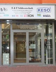 E + F Schliesstechnik, Eingang